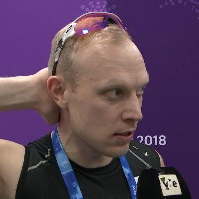 Korean olympialaiset: Pekka Koskela herkistyi kyyneliin viimeisen kisastartin jälkeen