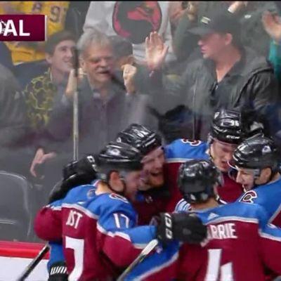 NHL: Mikko Rantanen osui, Coloradolle tappio