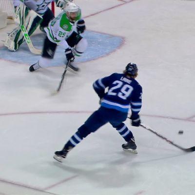 NHL: Laine tykitti Kari Lehtosen ohi kaksi osumaa - nousi maalipörssin kärkeen