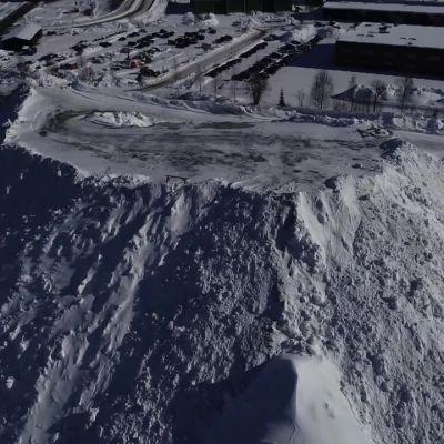 Kuopion Siikalahden lumenkaatopaikka