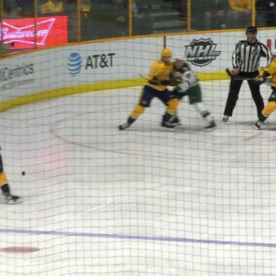 NHL: Nashville löi Minnesotan – Granlundin maaginen lättysyöttö pelasti Wildille pisteen