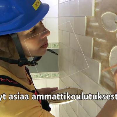 Yle Uutiset selkosuomeksi: Luksian opiskelijat esittelevät: rakennusala