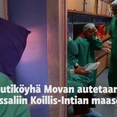 """Uutisvideot: Sairaalajunassa avun saanut sokea. """"En ikinä unohda junan nimeä"""""""