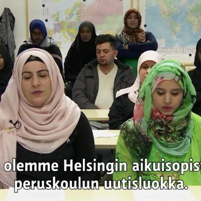 Yle Uutiset selkosuomeksi: Uutisluokan päivä