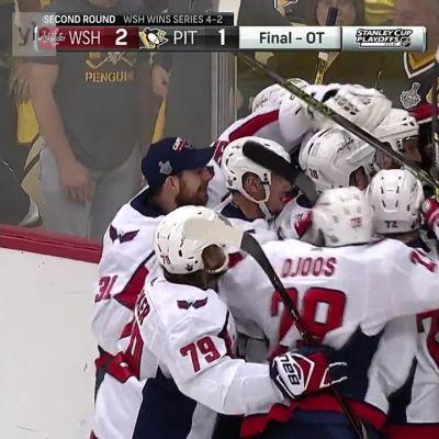 NHL: Kuznetsov laukoi Washingtonin konferenssifinaaleihin