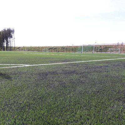 Kyrkösjärven maisemiin Seinäjoelle rakentunut jalkapallokenttä on yksi  heinäkuun EM-turnauksen harjoituskentistä.