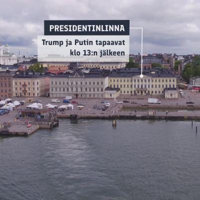 Kierrä Helsingin huipputapaamisen pääkohteet lentäen