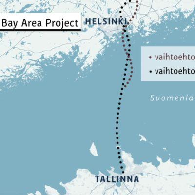 Saadaanko Helsingin ja Tallinnan välille tunneli?
