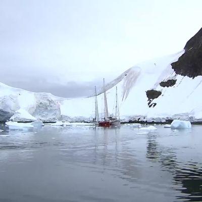 Nasa tutkii Etelämantereen jäätiköt ilmasta käsin