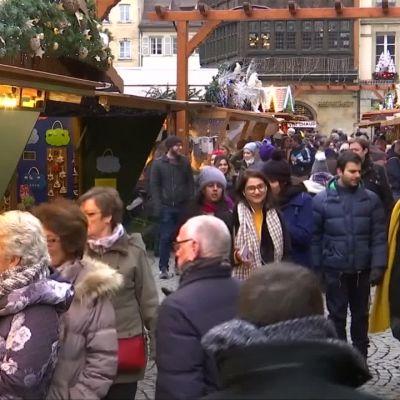 Strasbourgin joulutori avautui uudelleen  Lähde:RTV