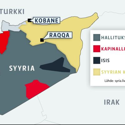 USA, Venäjä ja Syyria