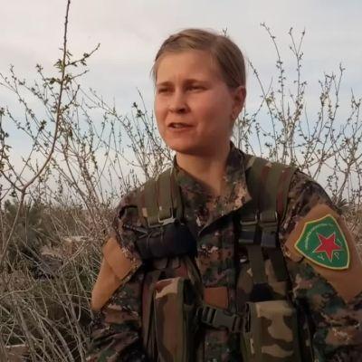 Syyrian kurdien joukoissa taistelevan suomalaisnaisen haastattelu
