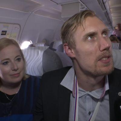 Kultasuudelma! Anttilat kertoivat tunnelmiaan maailmanmestaruudesta