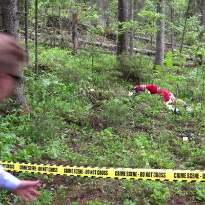 Tampereen Pyrinnön Jukola-joukkue esittäytyy CSI-tyyliin – katso esittelyvideo!