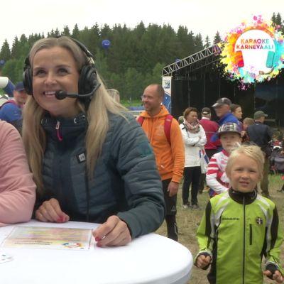 Pörrö-Possu osallistui Karaokekarnevaaliin Jukolassa