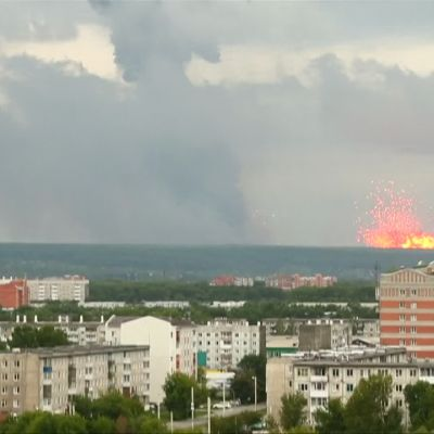 Krasnojarskissa sattui räjähdyksiä