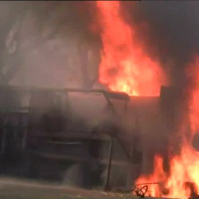 Tansaniassa rekkapalossa kuoli kymmeniä