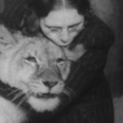 Ennenjulkaisematonta kuvaa unissasaarnaaja Maria Åkerblomista ja leijonista