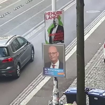 Attack utanför synagoga i Halle i Tyskland