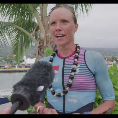 Kaisa Sali Havaijin Ironmanin jälkeen