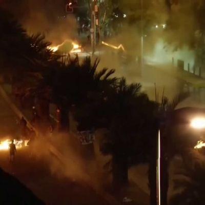 Protester i Chile