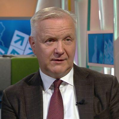 Vieraana Suomen Pankin pääjohtaja Olli Rehn