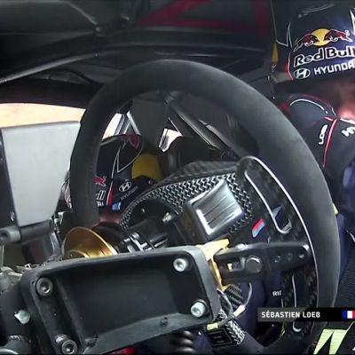 Sébastien Loeb spinnasi! Esapekka Lappi kirii kohti neljättä sijaa