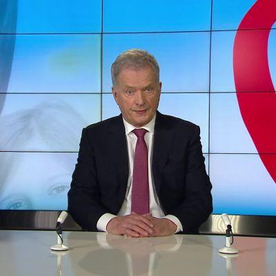 Tasavallan presidentti Sauli Niinistö avasi sunnuntaina vuoden 2020 Yhteisvastuukeräyksen.