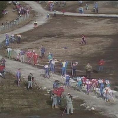 Falunissa hiihdettiin karuissa olosuhteissa jo 30 vuotta sitten