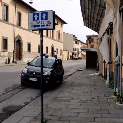 Koronavirus tyhjensi Pisan kaupungin Italiassa