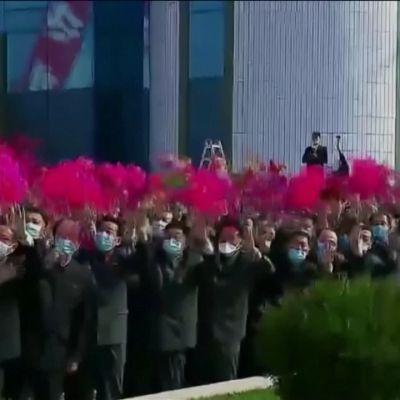 Pohjois-Korean johtaja esiintyi julkisuudessa kolmen viikon tauon jälkeen