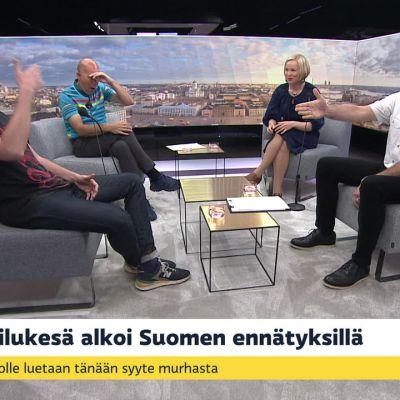 Yleisurheilukesä käyntiin Suomen ennätyksillä, Suomalaisfutari voitti Englannin Superliigan, ovatko polittiset kannanotot tulleet jäädäkseen?