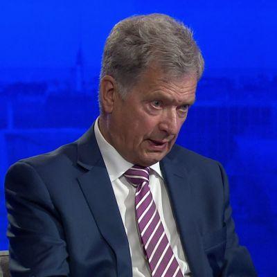 Presidentti Niinistö otti kantaa Valko-Venäjän jääkiekon MM-kisoihin
