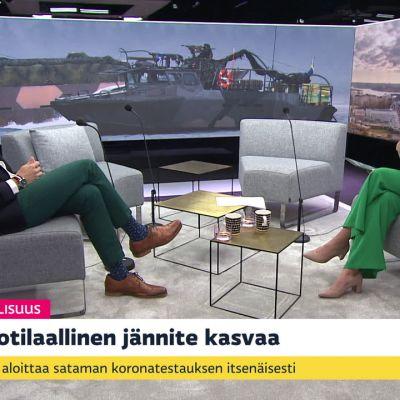 Itämerellä sotilaalliset jännitteet kasvaneet - Ruotsi kohotti sotilaallista valmiutta