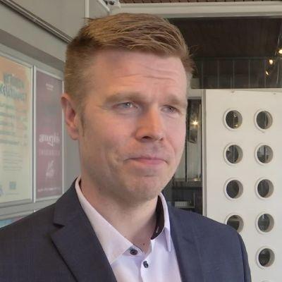 Juuan kunnanjohtaja Markus Hirvonen