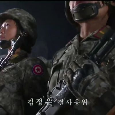 Pohjois-Korean paraati kunnioittaa työväenpuolueen 75-vuotisjuhlaa