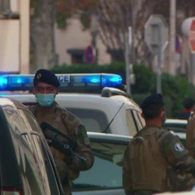 Ampuja haavoitti kirkkoa sulkemassa ollutta pappia Ranskan Lyonissa