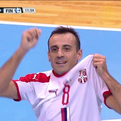 Serbia voitti Suomen niukasti kotikentällään