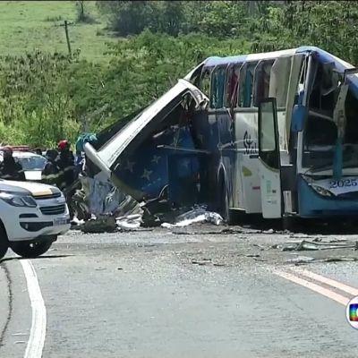 Vakava bussiturma Brasiliassa