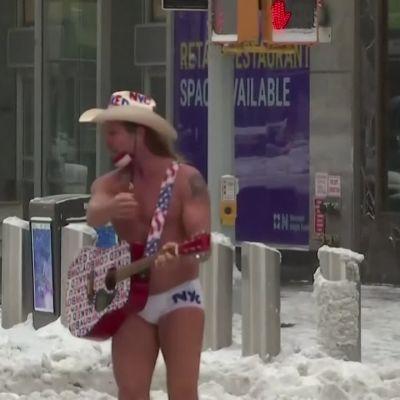 Luminen päivä New Yorkissa