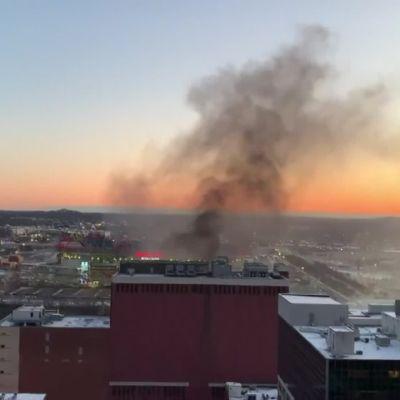 Nashvillessä voimakas räjähdys