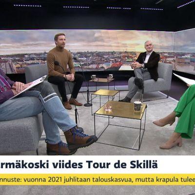 Krista Pärmäkoski viides Tour de Skillä, Suomelle pronssia nuorten MM-jääkiekossa, Saavatko urheilijat etuilla koronarokotteen saannissa?