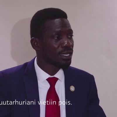 Ugandan oppositiojohtajan kotiin hyökätty