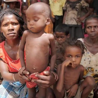 Kuivuus ja nälkä piinaa Madagaskaria