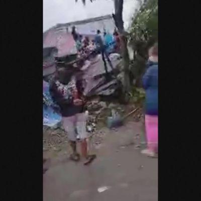 Maanjäristys vavisutti Sulawesin saarta Indonesiassa