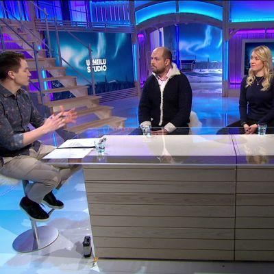 Valtiosihteeri Tuomo Puumala vastasi katsojien kysymyksiin lasten ja nuorten sisäliikuntaharrastusten rajoittamisesta