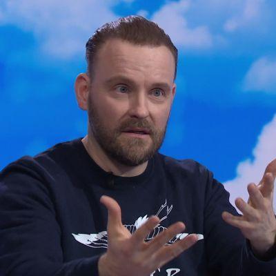 Median moniosaaja Sampo Marjomaa ja heittäytymisen ABC