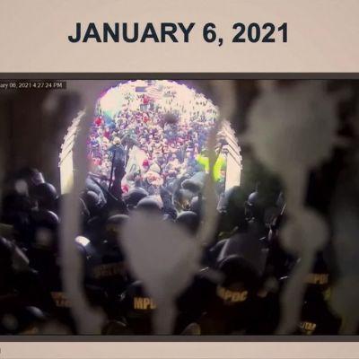 Uutta kuvaa Capitolin mellakasta