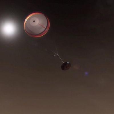 USA:n mönkijän määrä laskeutua Marsin pinnalle tänään