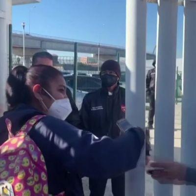 Ensimmäiset turvapaikanhakijat saapuivat Meksikosta Yhdysvaltoihin